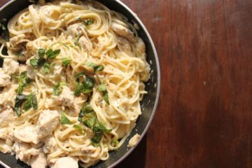 chicken carbonara pasta
