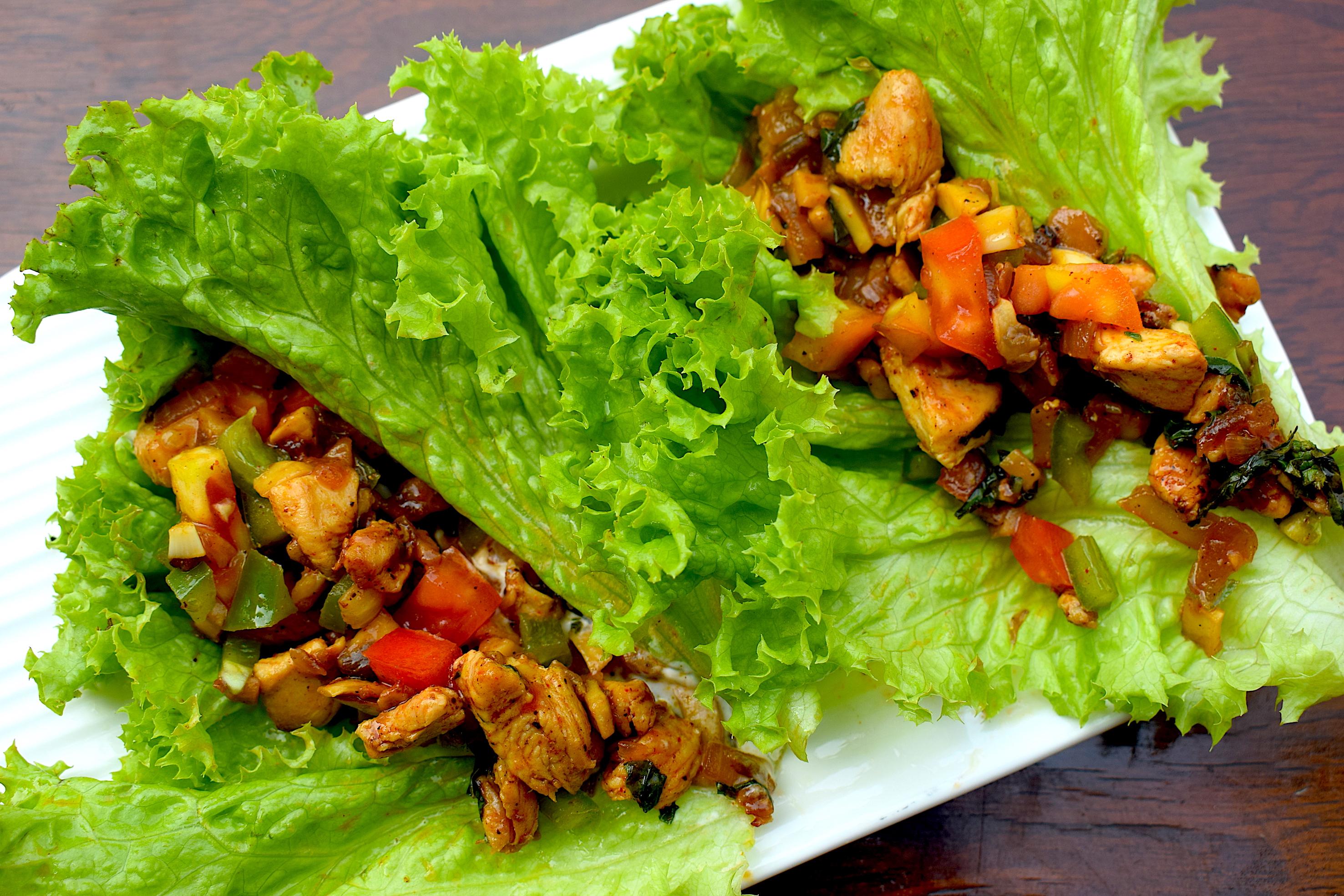 lettuce wraps diet food