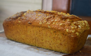 mango oatmeal bread