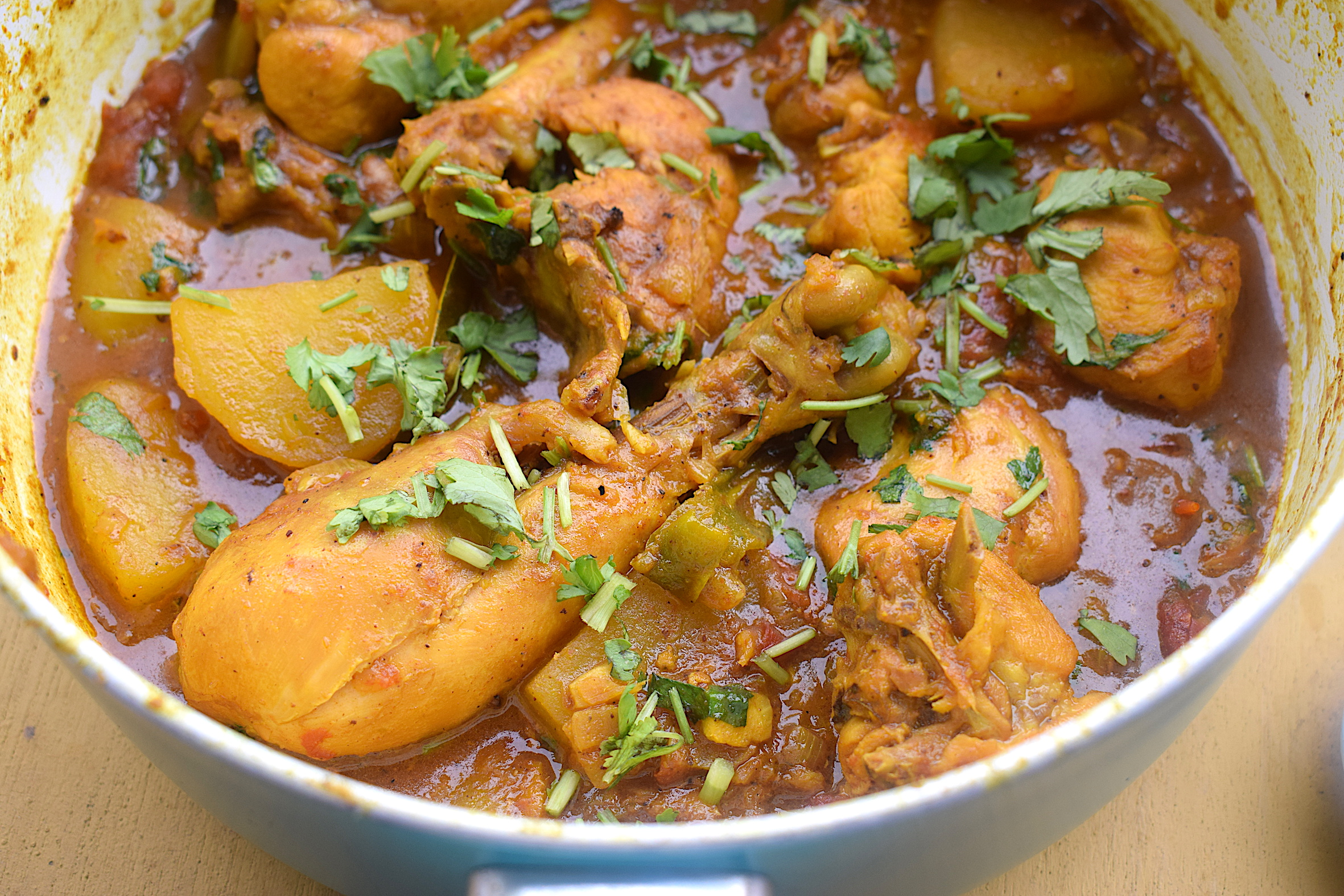 Assamese chicken curry