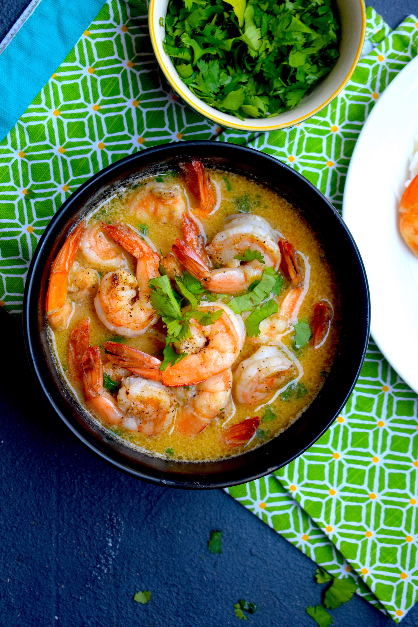 prawn curry with lemongrass
