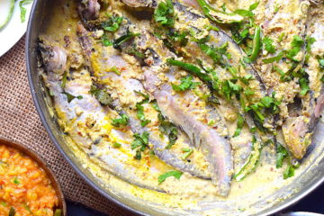 pabda fish with mustard