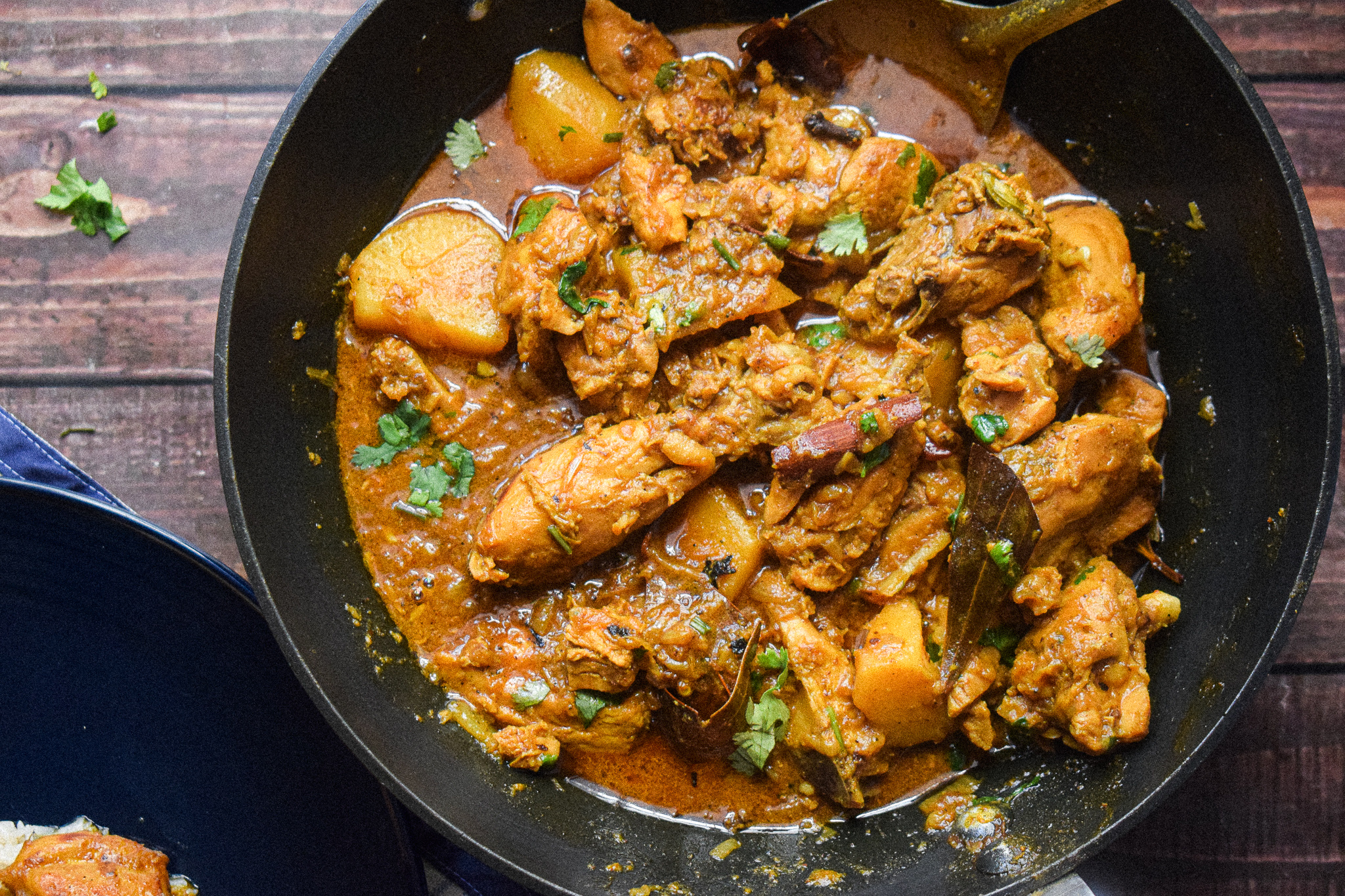 easy chicken curry with potatoes