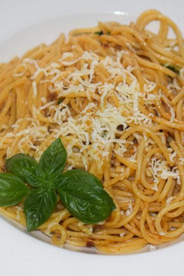lemon butter garlic pasta