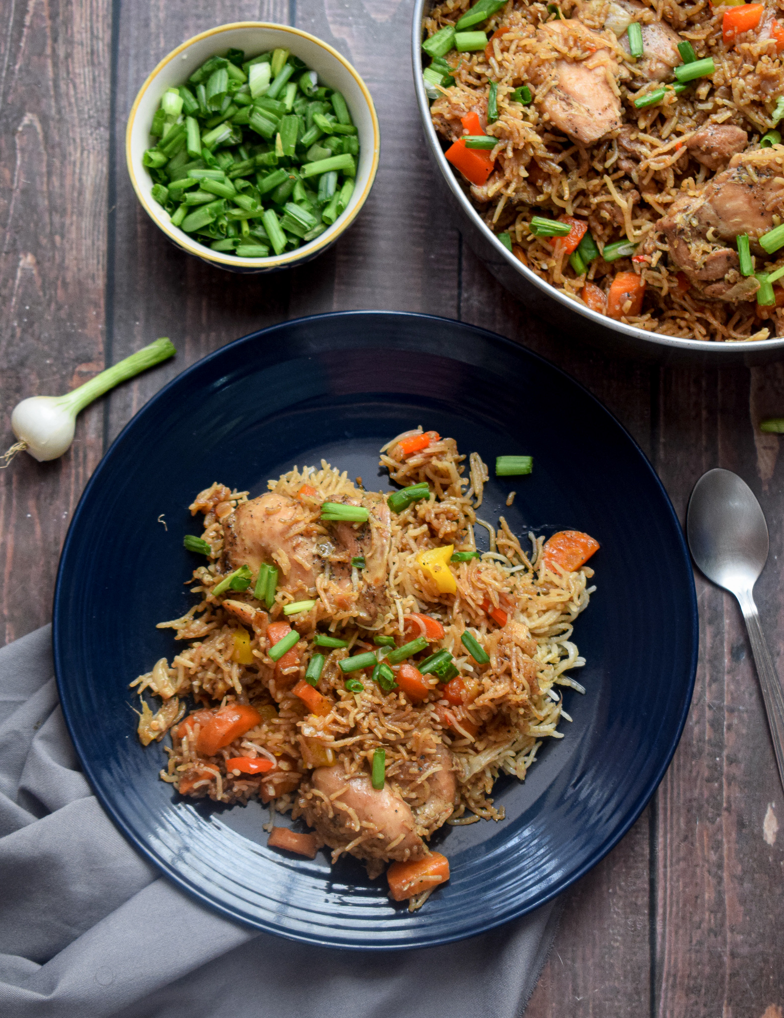 asian chicken and rice