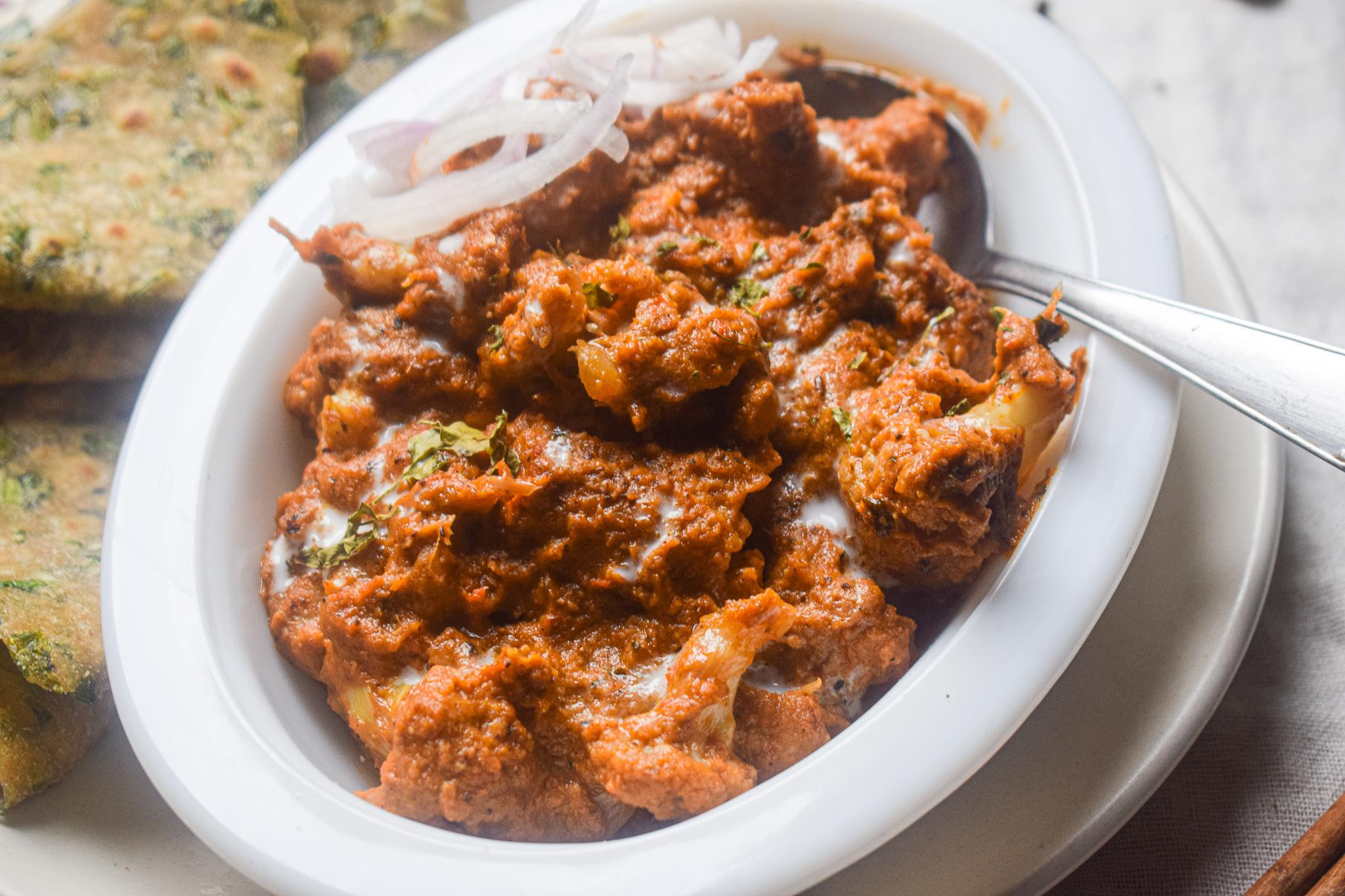 vegan gobhi makhani