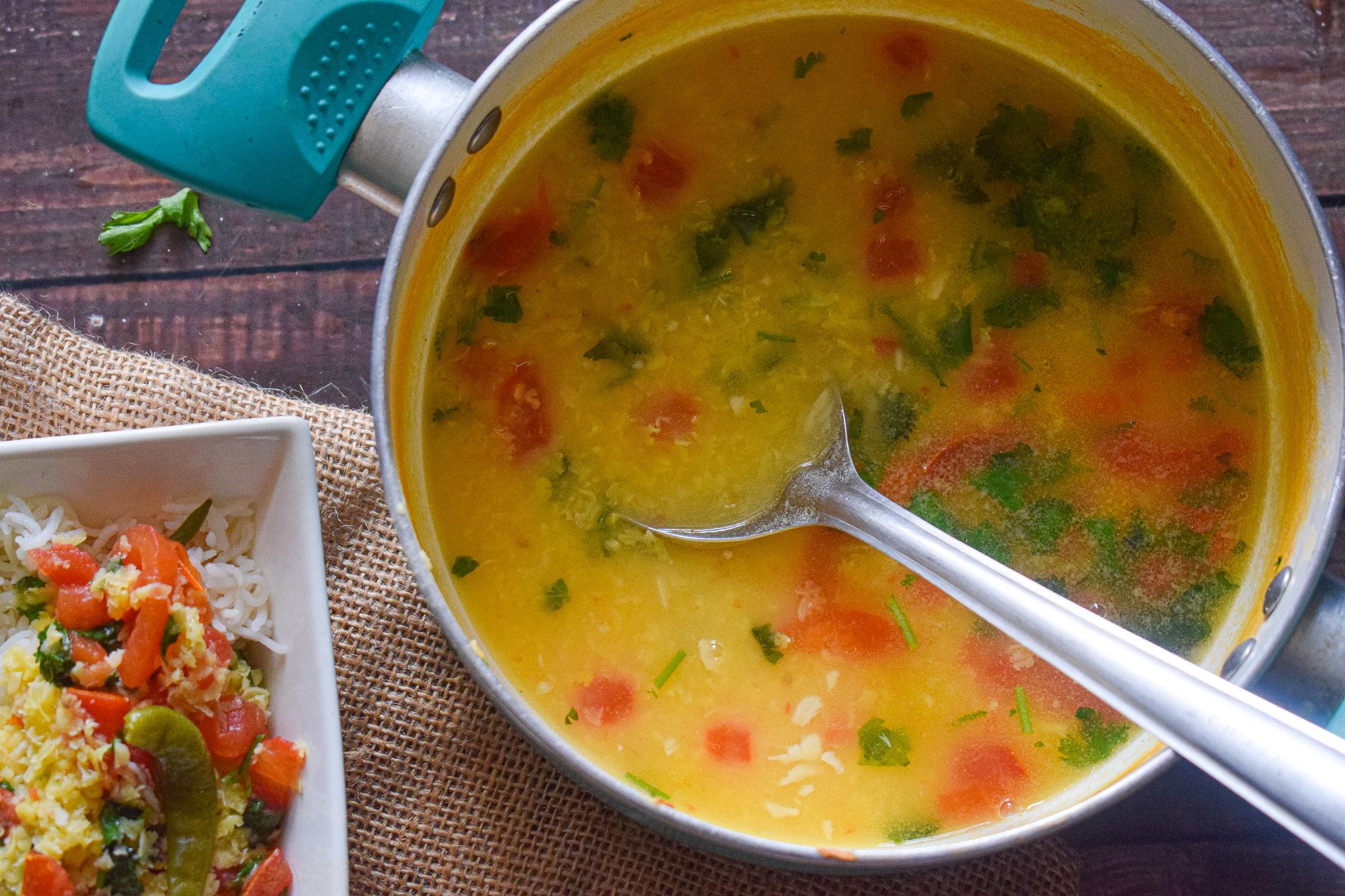 boiled moong dal